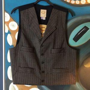 Scully Pinstripe Waistcoat